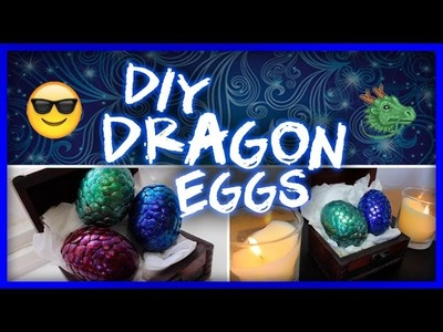 Dragon Eggs Tutorial. DIY + Game of Thrones