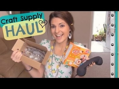 Etsy & Amazon Craft Supply Haul