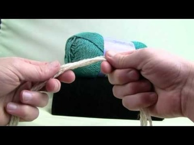 Extreme Crochet - Lesson 1 - Setting Up & Chaining
