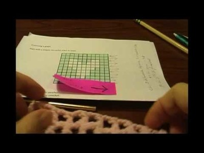 Filet Crochet Tutorial Part 2 of 6