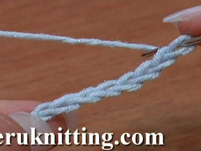 How to Crochet Chain Stitch Foundation Chain Beginning Crochet Tutorial 4