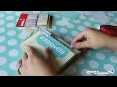 How to Make a Fold Up Memory Book