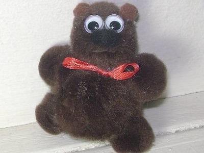 How to make a Pom Pom Bear - EP