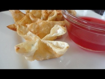 How to Make Crab Rangoon - Restaurant Style