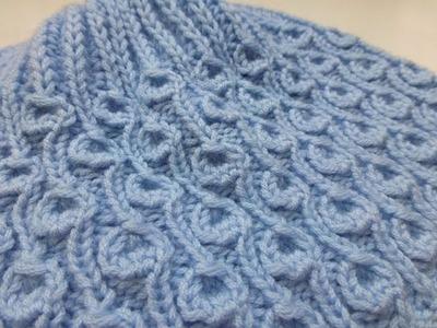 "Knit with eliZZZa * Knitting Stitch ""Dandelion"" * Brioche Stitch"