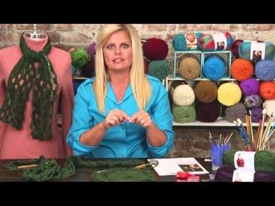 Learn to Crochet the Honeycomb Pattern with Red Heart Boutique Changes