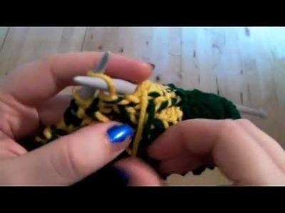 Learn to Knit: Triforce Toque Part One