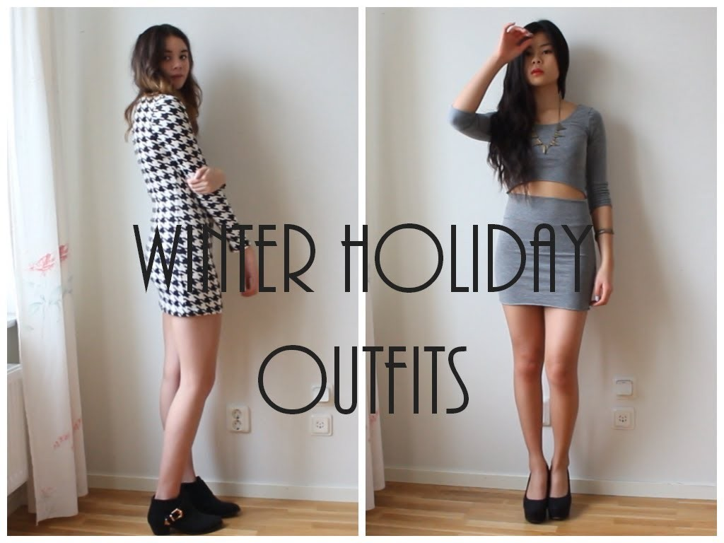 Lookbook Winter Holiday Outfits