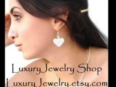 LuxuryJewelry Etsy Shop Swarovski Handmade Jewelry