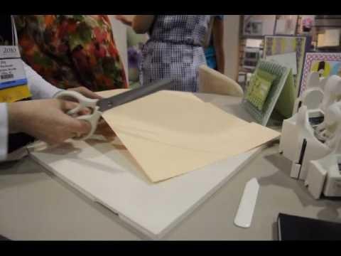 Martha Stewart Crafts Scoring Board - Summer CHA 2010