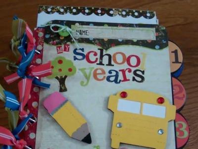 'My School Years' Album Kit by scrapkitstudio.com