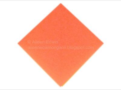 Origami Preliminary Base Video Tutorial *HD*