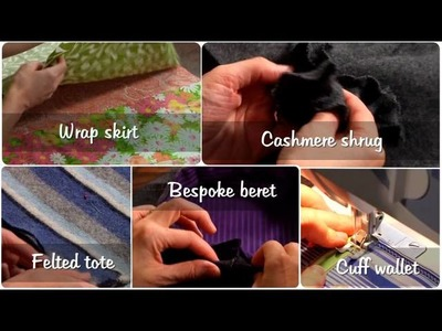 Project Upcycle: Thrifty Sewing Projects with Betz White on Craftsy.com