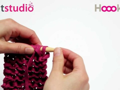 Reliefsteek. Knit Relief-Stitch. Reliefmuster stricken