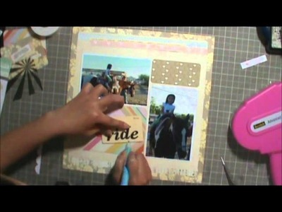 Scrapbooking Process 45: 2 pg LO - 12 x12 & pocketed page (5.6.14)