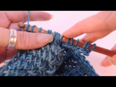 Tunisian Crochet: Miter Squared Part 2 of 2