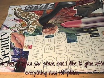 Tutorial: DIY creative collage!