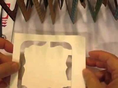 Twelve Days of Christmas Accordian Album Using Elizabeth Craft Design Dies