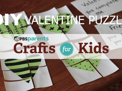 Valentine's Day Heart Puzzles | Crafts for Kids | PBS Parents