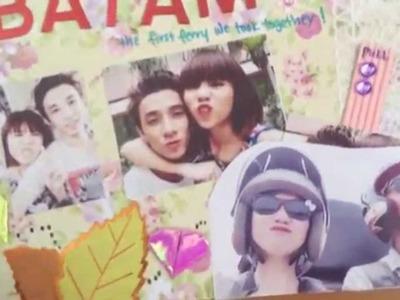 Valentine's Gift - Handmade Scrapbook for My Boyfriend! | YaonEvan