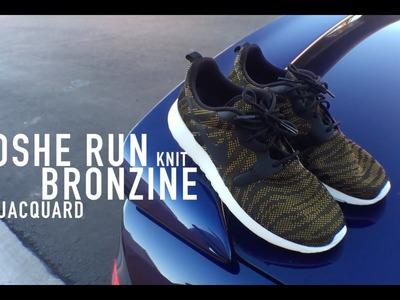 WMN Roshe Run Jacquard Knit Review & On Feet | Bronzine