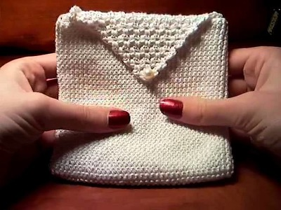 22.22 HOW TO MAKE PURSE. BAG. HANDBAG. CROCHET