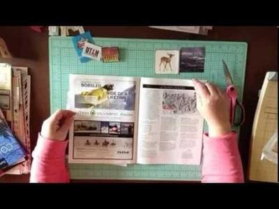 #26 Scrapbook Process: Organizing Vacation Memorabilia & Creating a Vacation Scrapbook Layout
