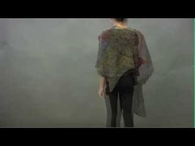 #28 Lace Wrap, Vogue Knitting Winter 2009.2010