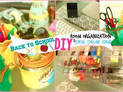 Back to School: DIY Room Organization & Desk Decor Ideas!