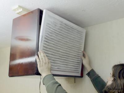 Build a Woodworking Dust Filter Air Purifier DIY 100 bucks | Part 1