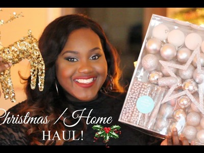 Christmas. Winter Home Decor Haul | IKEA | TESCO | DIY IDEAS and MORE| Chanel Boateng