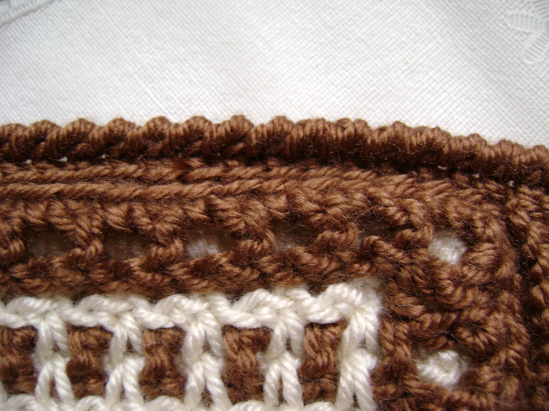 Crochet a Reverse Single Crochet or Crab Stitch
