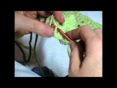 Crochet Flower Headband Crochet-along