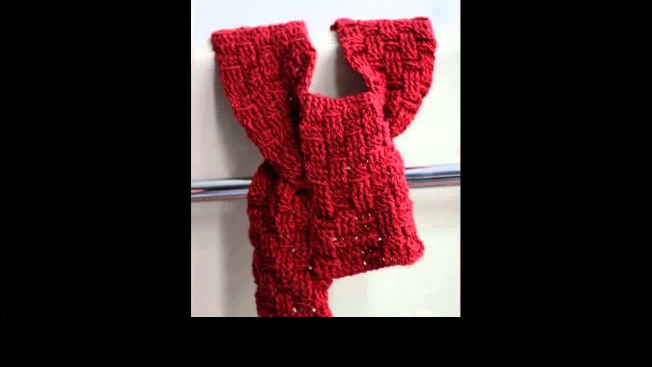 Crochet scarf hoodie