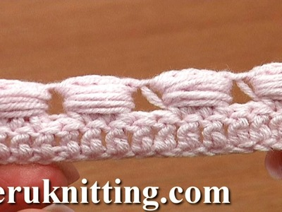 Crochet Wide Bullion Block Stitch Tutorial 40 Part 4 of 7 Made Around Three Posts
