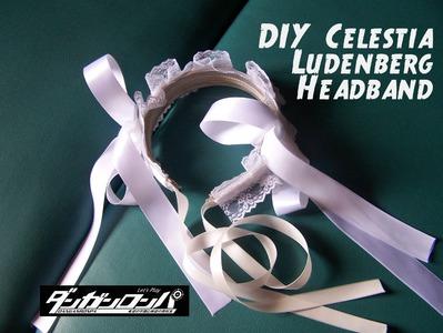 DIY Celestia Ludenberg Cosplay Headband Tutorial