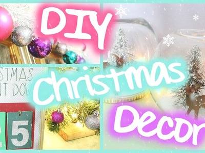 DIY Christmas Room Decor! Easy & Festive