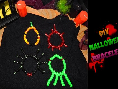 DIY Halloween Bracelets (Kandi) - [www.gingercande.com]