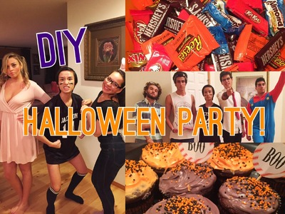 DIY Halloween Party: Treats, Costumes and Decorations!