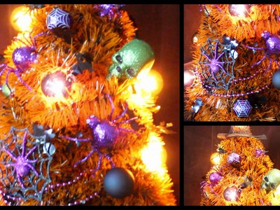 DIY: Halloween Room Decor Tree