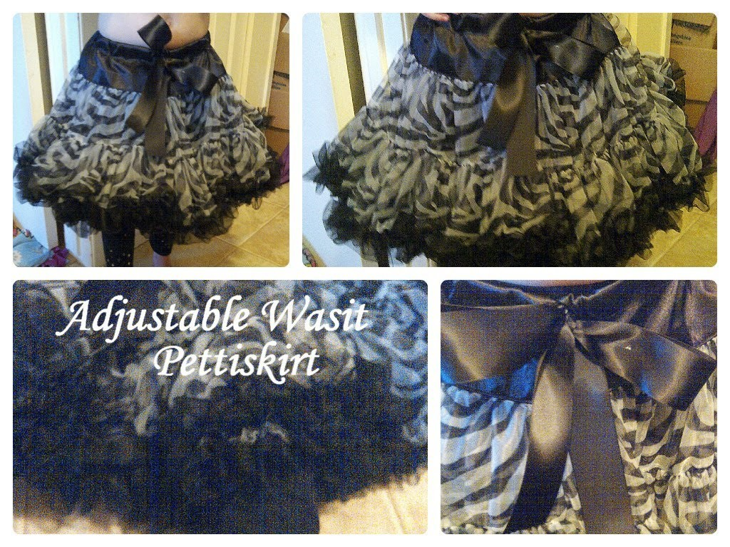 DIY-How to make a pettiskirt