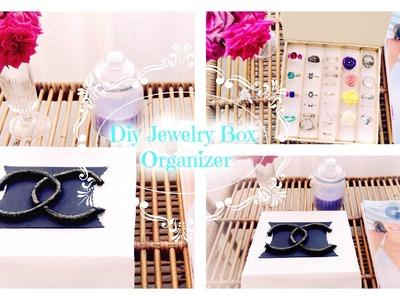 DIY JEWELRY BOX ORGANIZER - Tutorial