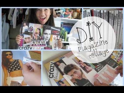DIY: Magazine Collage