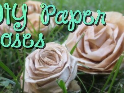 DIY Make RoseFlowers Easy