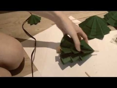 DIY. Make Your Own Paper Trees