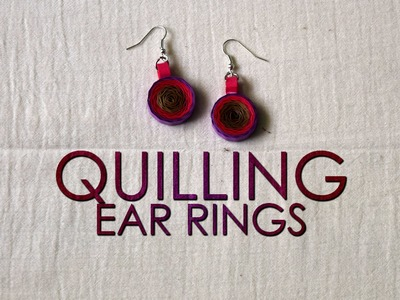DIY | Quilling Earrings Designs | Quilling Designs | Quilling Tutorial
