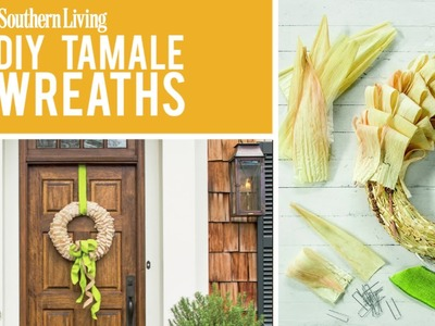 DIY Tamale Wreath | Fall Decoration