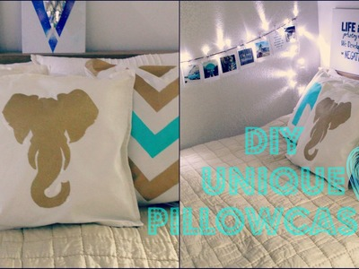 DIY Unique Pillow Cases