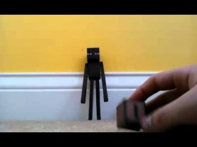 Enderman Papercraft!