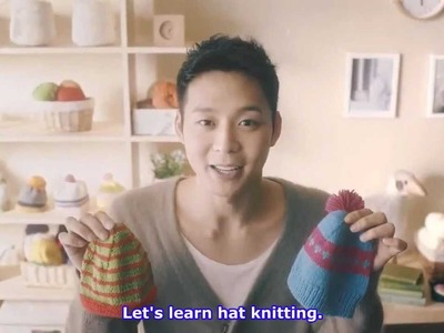 [ENGSUBBED] 121106 Hat Knitting training school - Save the Children Season 6 Campaign
